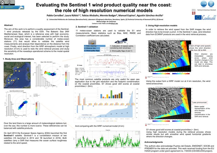 Evaluating the Sentinel 1 wind product quality near the coast